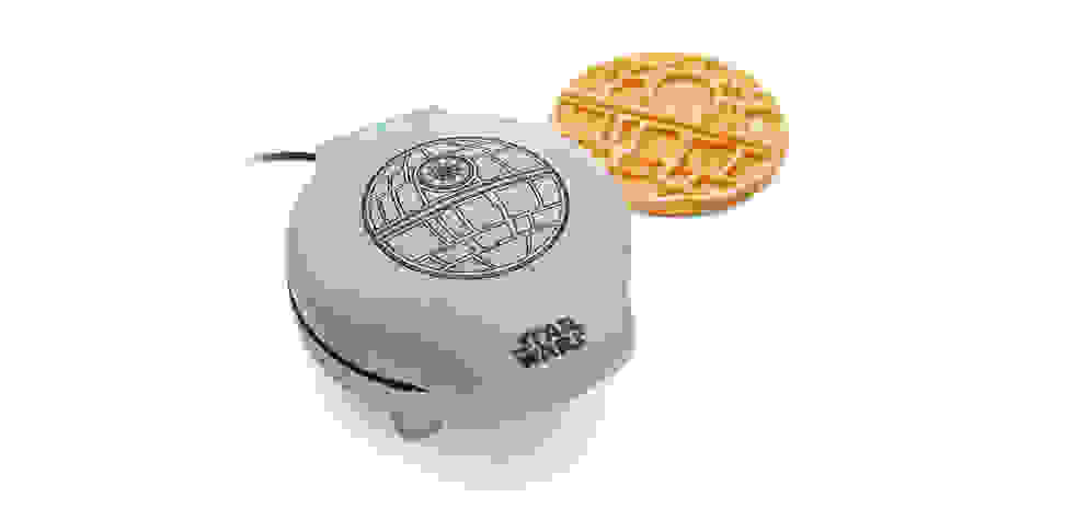 Death Star Waffle Maker and waffle
