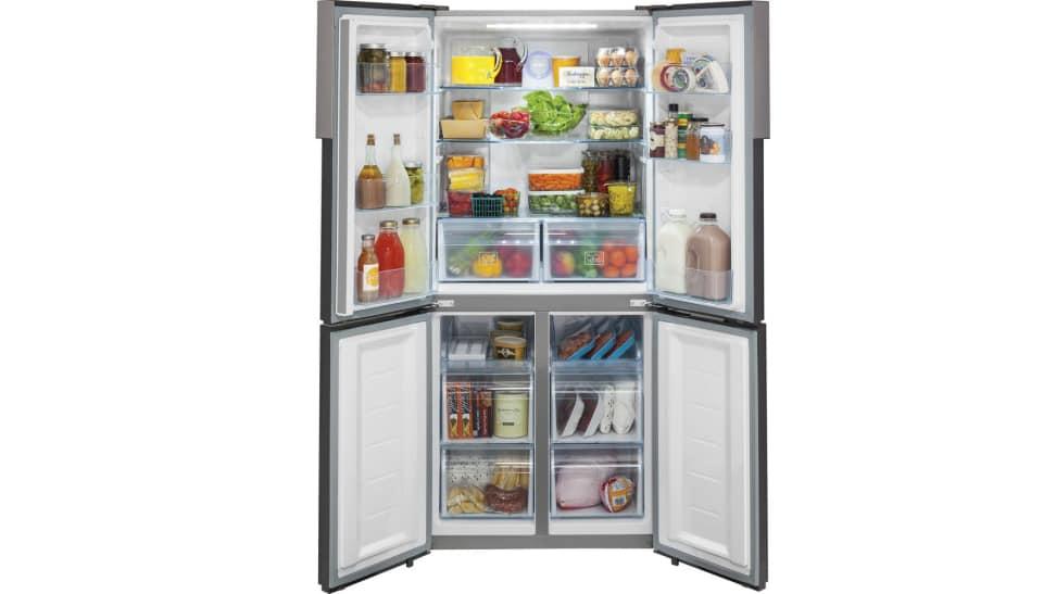 haier hrq16n3bgs counter depth french door refrigerator. Black Bedroom Furniture Sets. Home Design Ideas