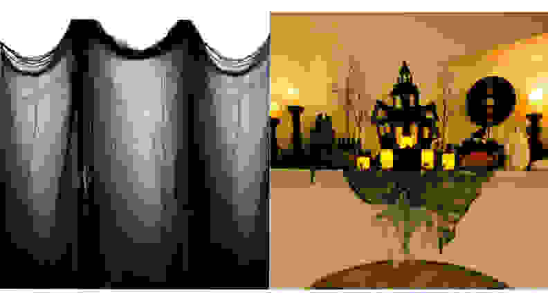 LUTER 80 x 196 Inches Halloween Creepy Cloth