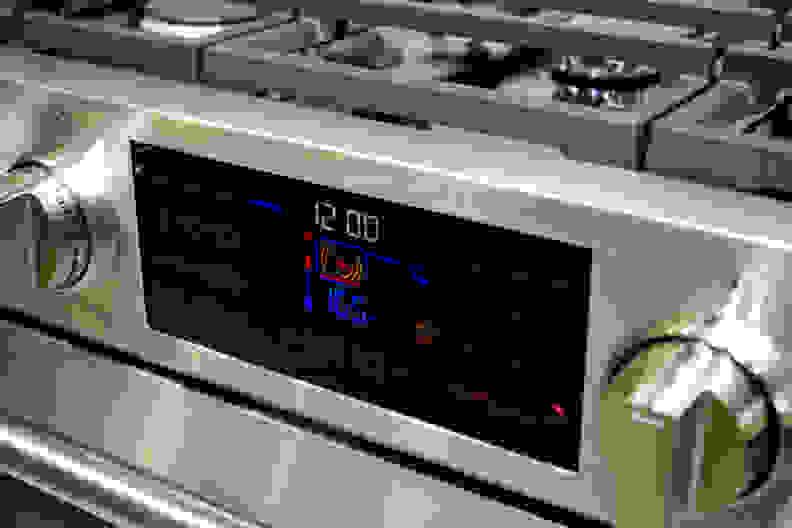 Beko range touch panel