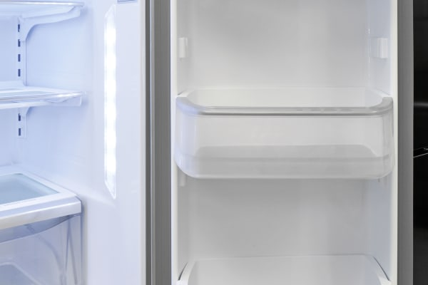 There's plenty of gallon-sized storage on the Kenmore Pro 79993's right-hand fridge door.