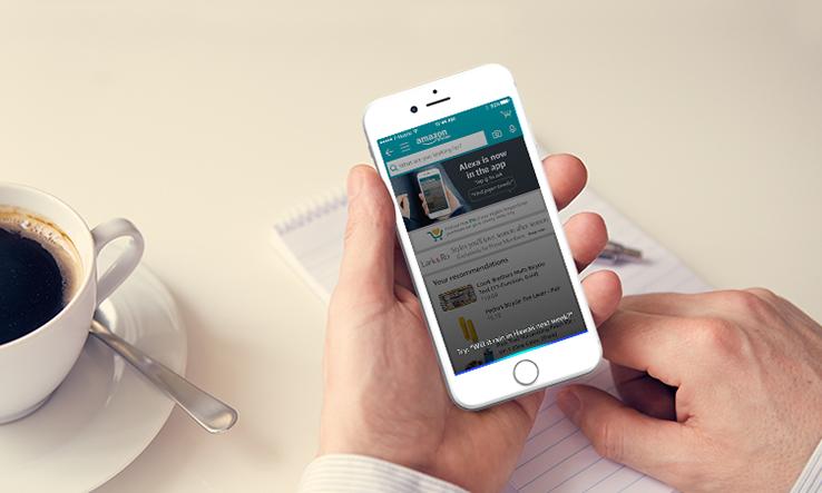 Alexa in the Amazon iPhone app