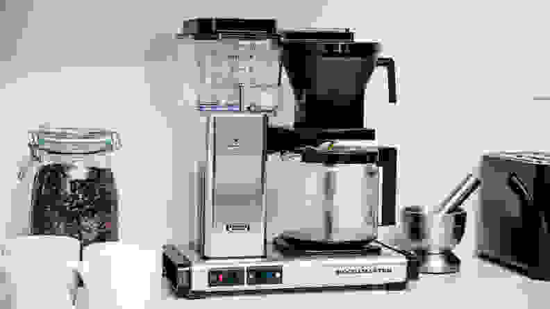 Technivorm Moccamaster remains our best overall coffee maker.