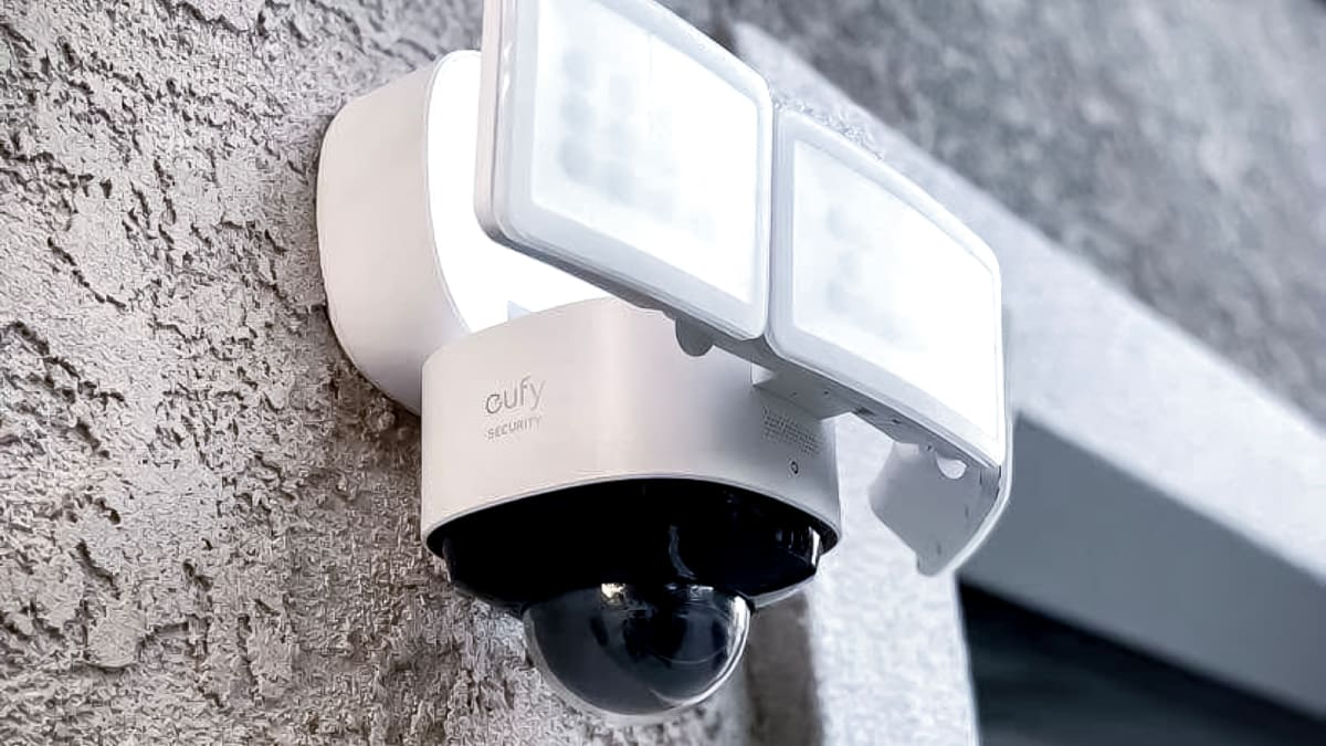 Eufy's new floodlight camera is bright, bold, and full of features