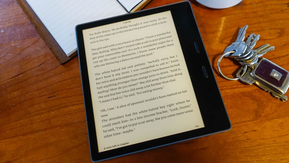 Review: Amazon's All-New Kindle Oasis - Reviewed Tech