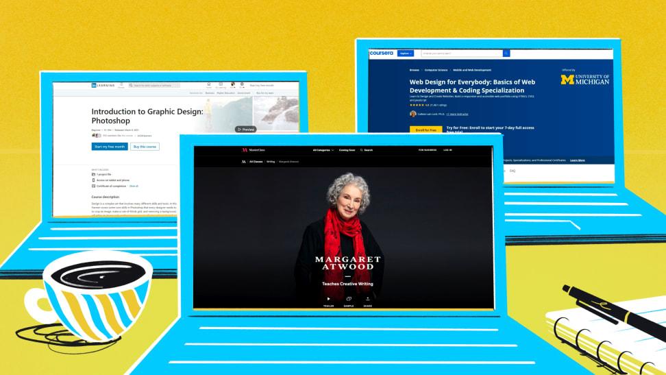 LinkedIn Learning / MasterClass / Coursera