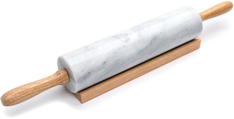 Product Image - Fox Run 4050 Marble Rolling Pin and Base