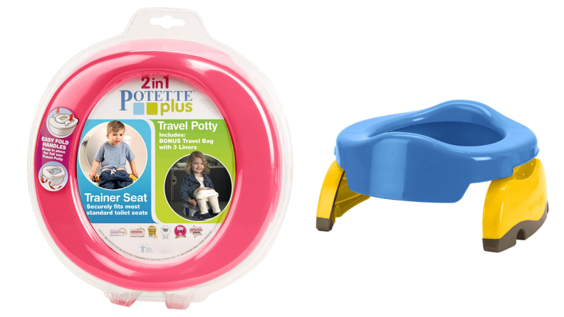A travel potty for kids.