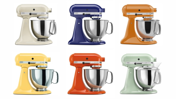 The Kitchenaid Artisan 5 Quart Stand Mixer Is On Sale At