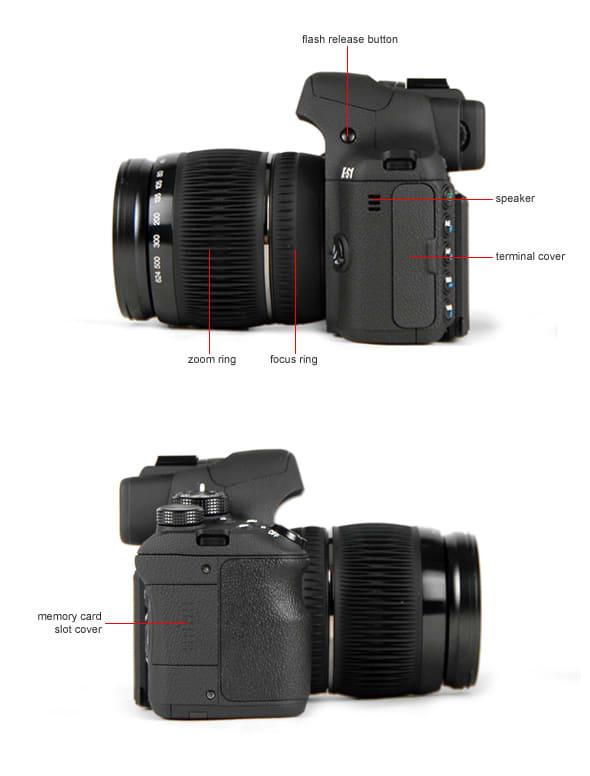 Fujifilm FinePix HS30EXR Vertical Shoe Mount Stabilizer Handle Pro Video Stabilizing Handle Grip for