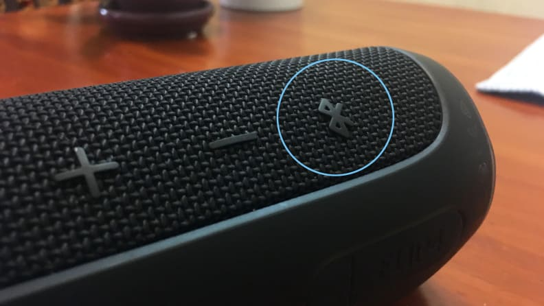 Bluetooth Speaker Discoverable Button