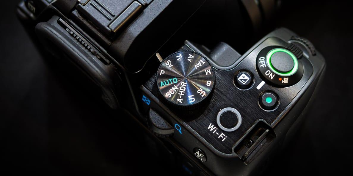 The Pentax K-S2 DSLR