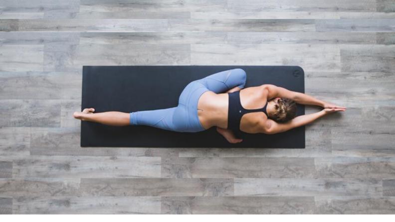 Above yoga