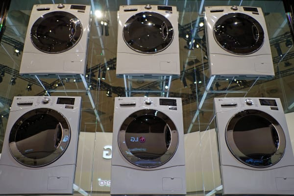 For now the Centum series of washing machines are only Europe bound.