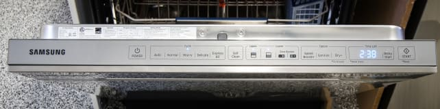 Samsung DW80H9970US Cycle Controls