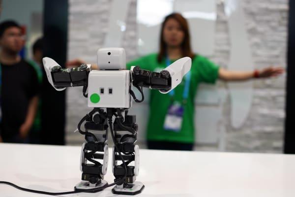 CES Asia 2016 robots