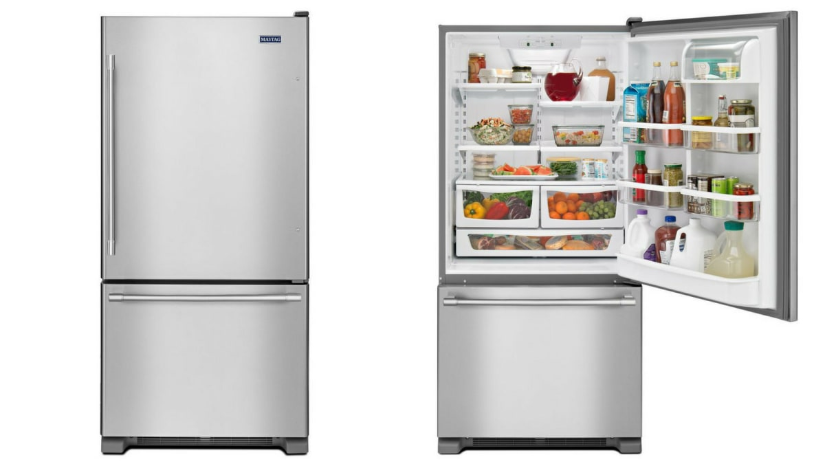 Maytag Mbf2258fez Bottom Freezer Refrigerator Review Reviewed