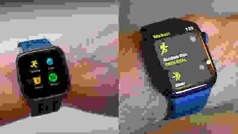 fitbit and apple watch