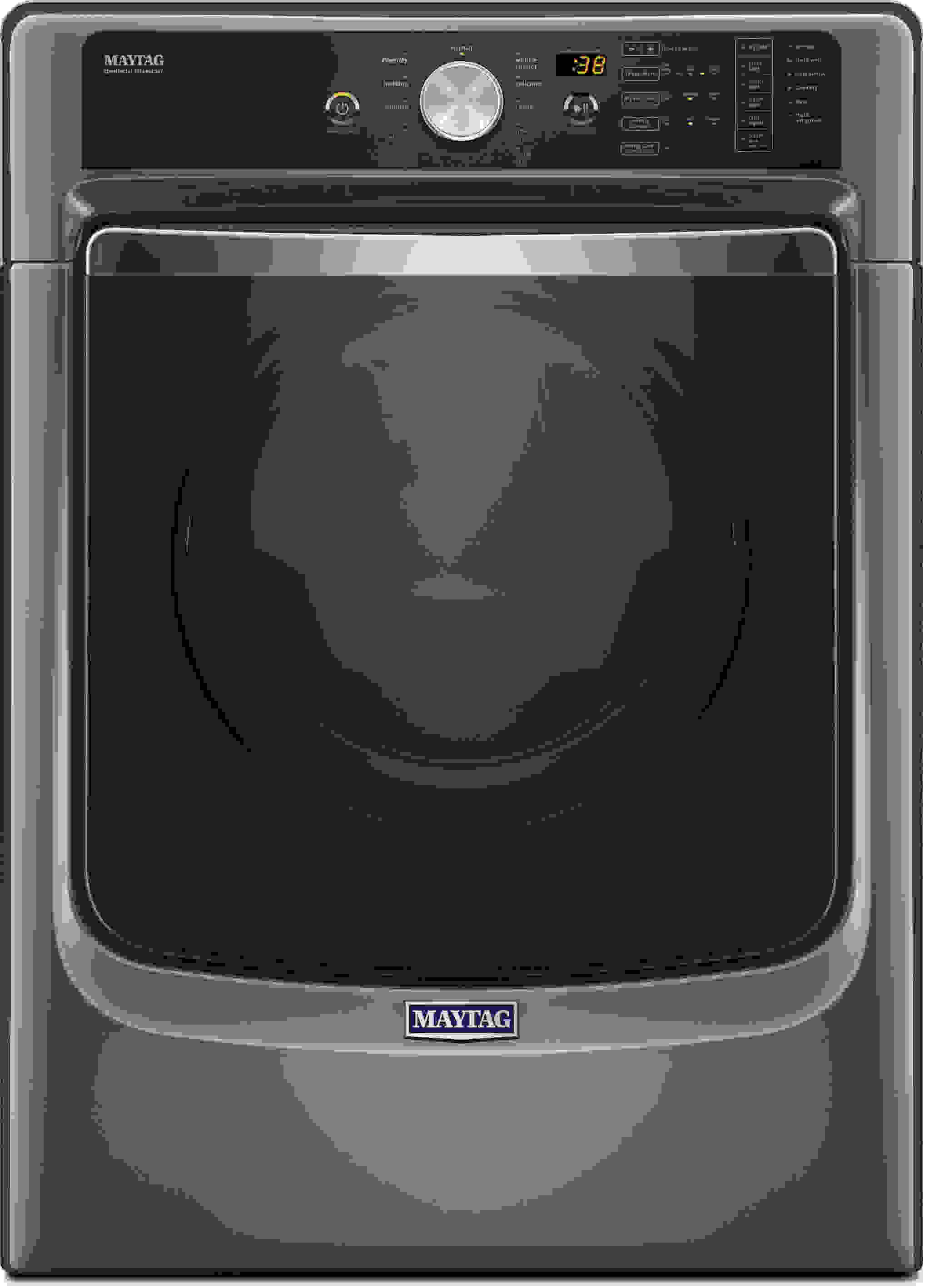 The 8200 series features Maytag's metallic slate finish... which is basically gray.