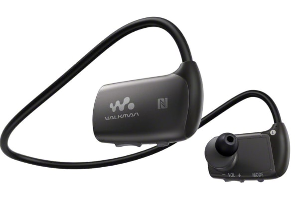 The Sony Walkman NWZ-WS613 MP3 Player actually doubles as a waterproof headset.