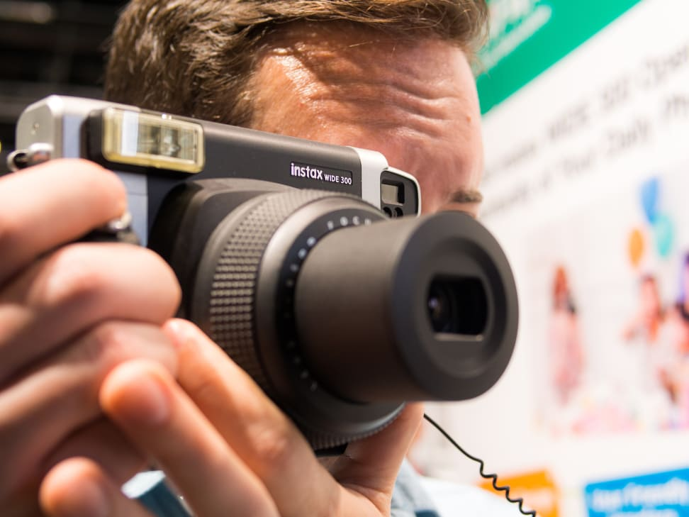 Fujifilm Instax Wide 300 – Handling