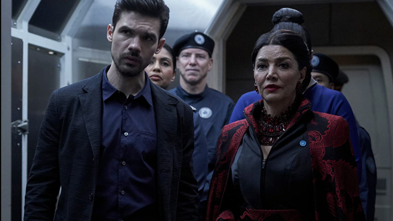 A still from the series The Expanse.