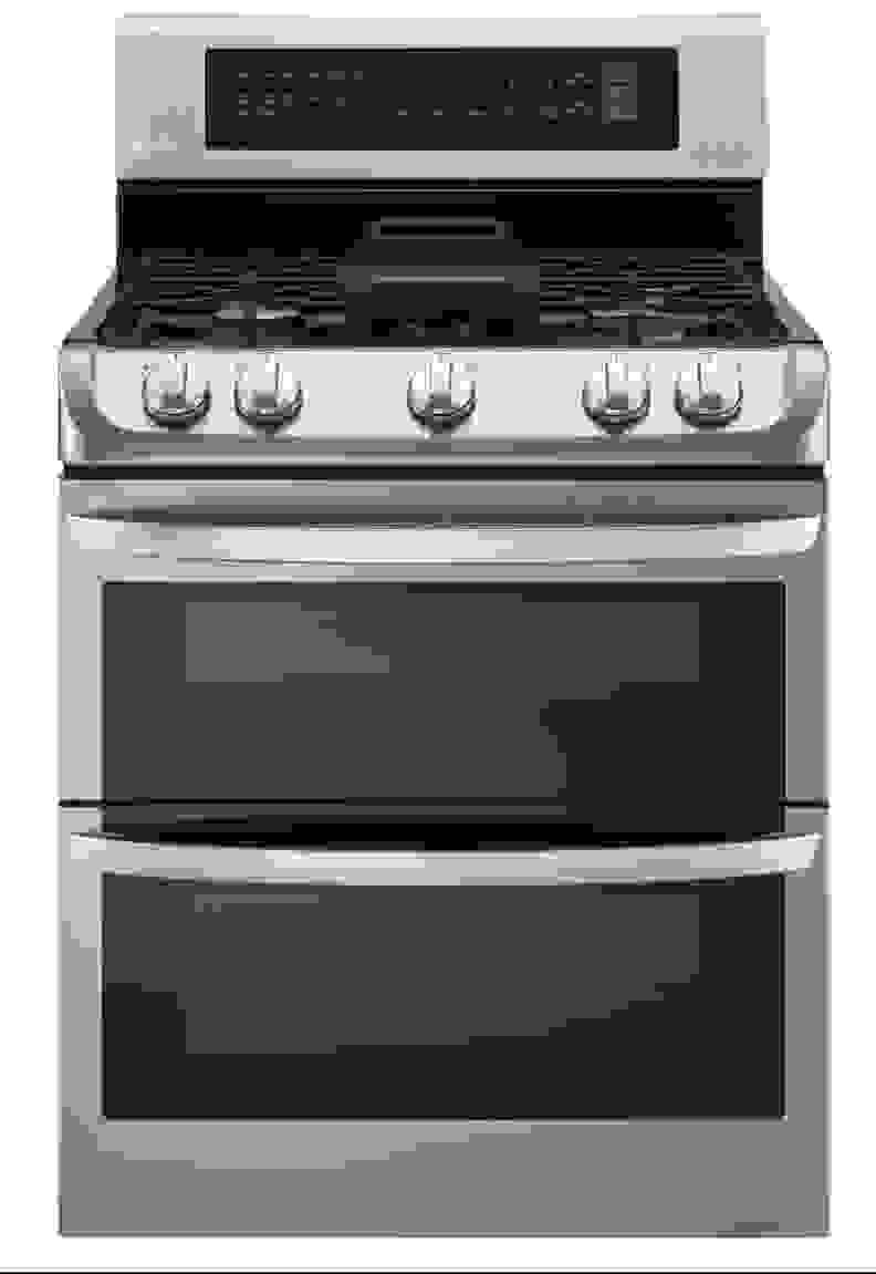 LG ProBake Double Oven Range