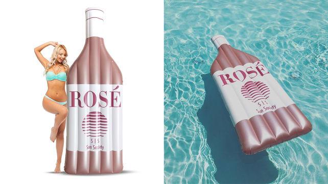 Sun Society Rosé Pool Float