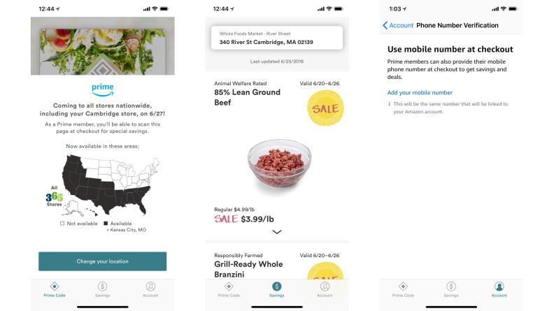 Whole Foods iOS App