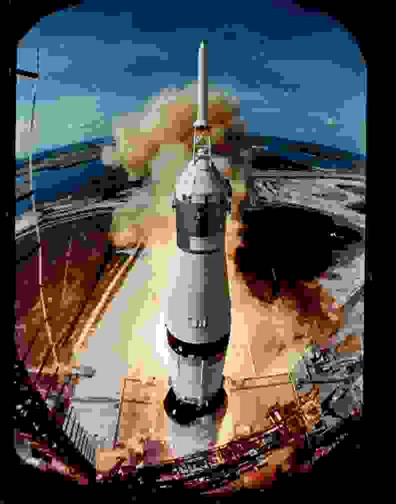 Apollo 11 Lift-off