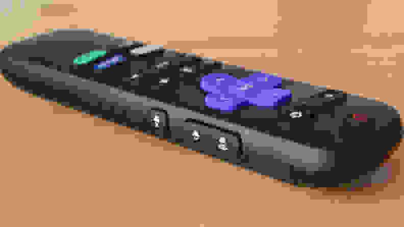 Roku Express 4K+ Remote Side