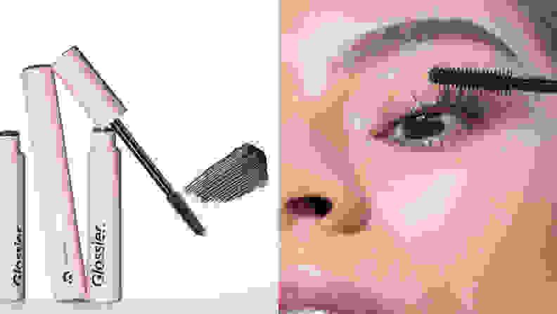 The Glossier Lash Slick Film Form Mascara.