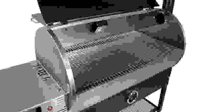 Rec Tec grill open