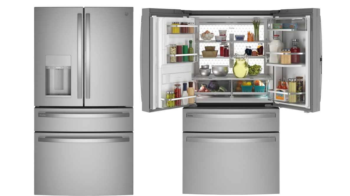 GE Profile PVD28BYNFS French Door Refrigerator Review