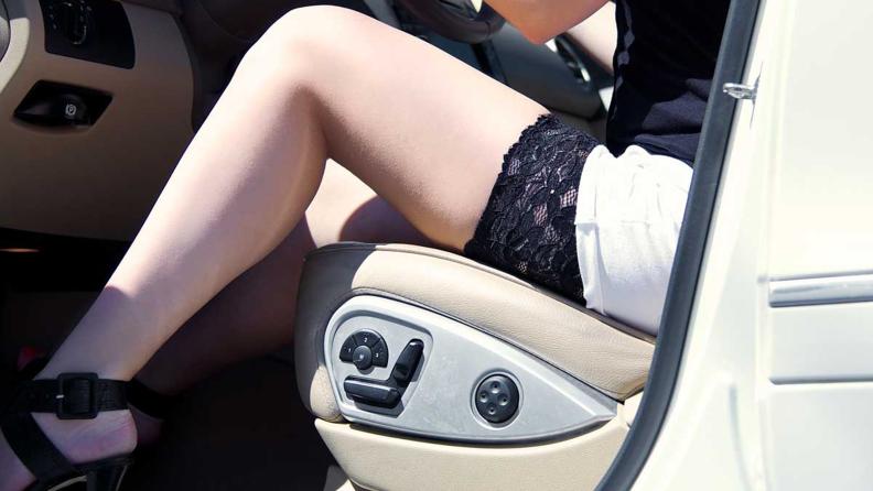 Bandelettes in Car