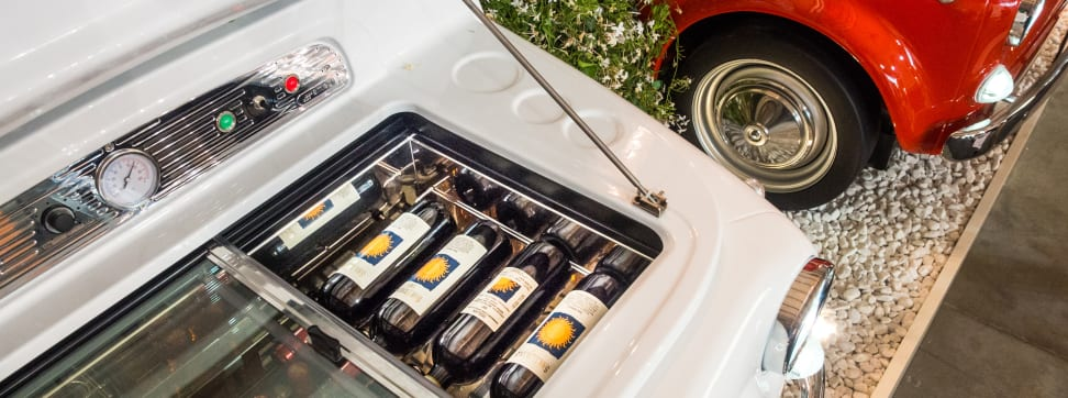 No matter how much wine you drink, Europe has a storage solution for you.