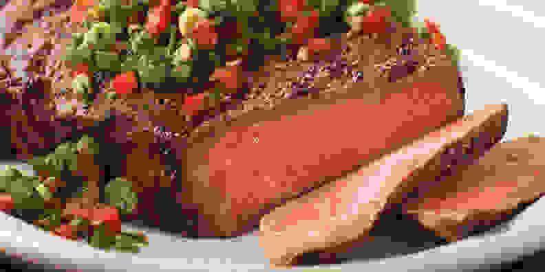 Ribeye steaks from Omaha Steaks
