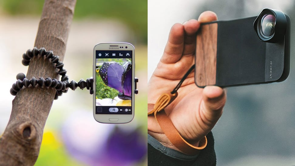 The right accessories make any smartphone camera feel more like a camera