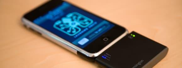 Smartphone external battery hero
