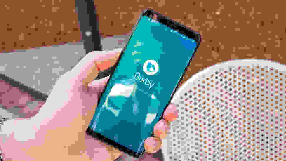 Samsung Galaxy S9 Bixby Assistant