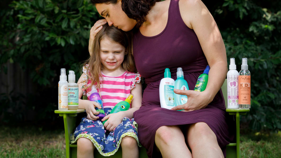 The best hair detanglers for kids