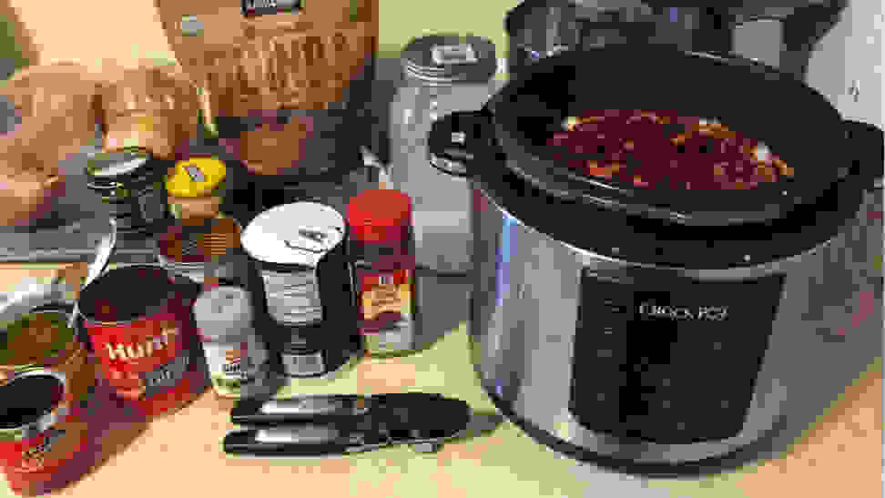 Best pressure cookers - Crock Pot chili