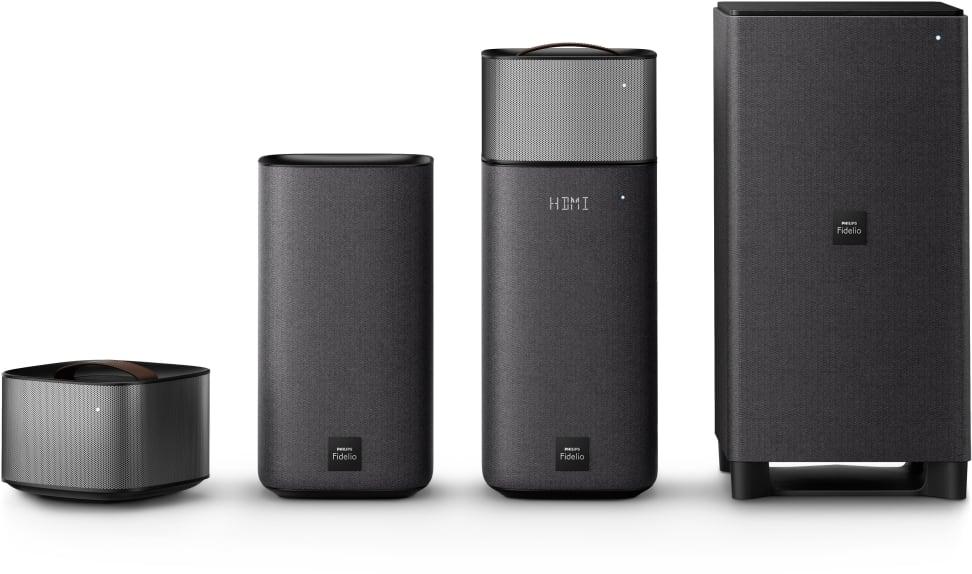 Philips Fidelio E6 Wireless Surround Speakers
