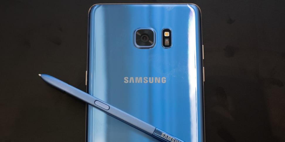 Samsung Galaxy Note 7 Coral Blue