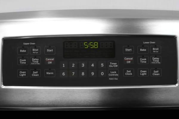 GE JB850SFSS oven controls