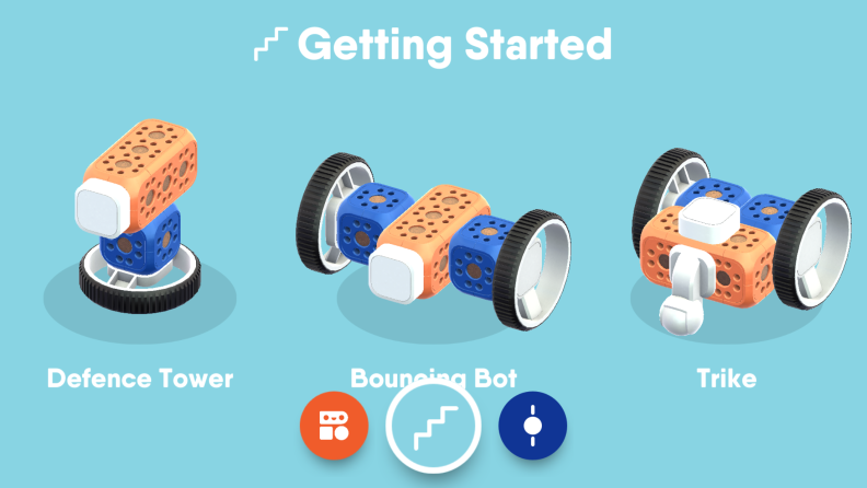 All three Robo Wunderkind apps come with built-in projects your kid can work on if they're not confident enough to strike out on their own just yet.
