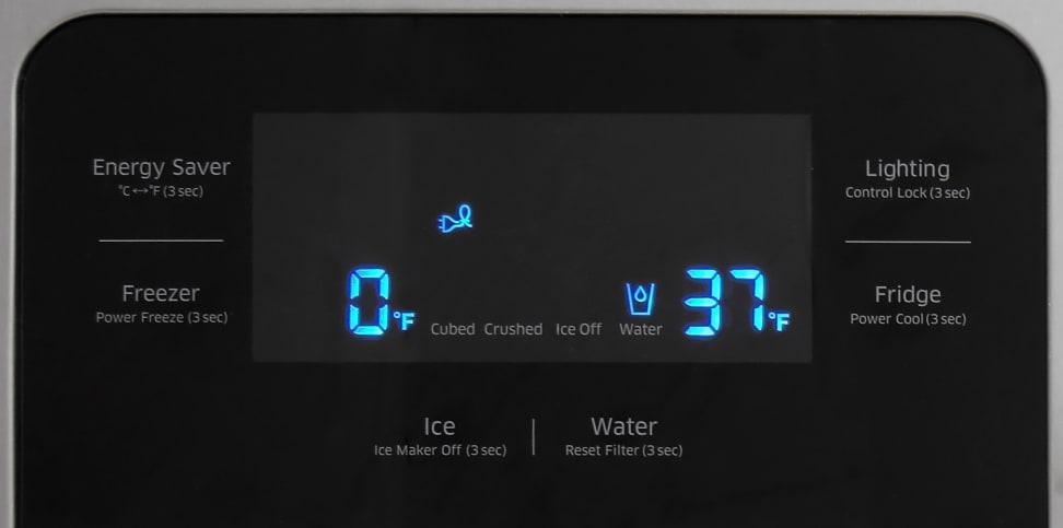 Samsung RH25H5611SR Controls