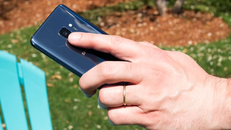 Samsung Galaxy S9 Fingerprint Scanner