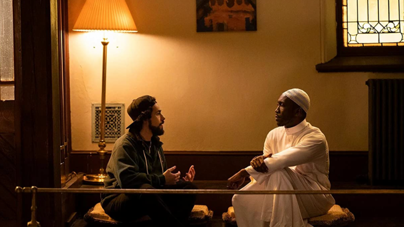 A still from Ramy featuring Ramy and Mahershala Ali.