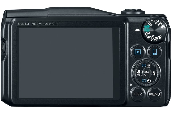 With a rear-mounted mode dial, the SX710 has some advanced functionality within easy reach.